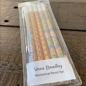 Vera Bradley Mechanical Pencil Set NWT
